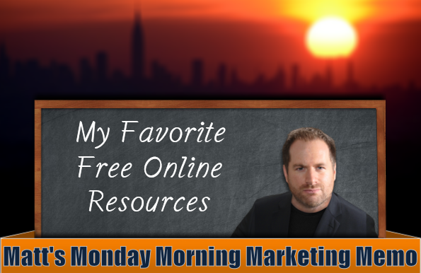 Matt's Monday Morning Marketing Memo – Vol. 198