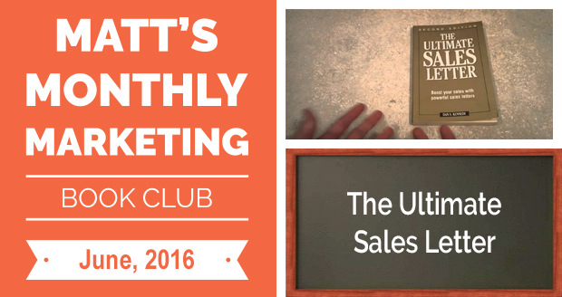 The Ultimate Sales Letter Matt Steffen