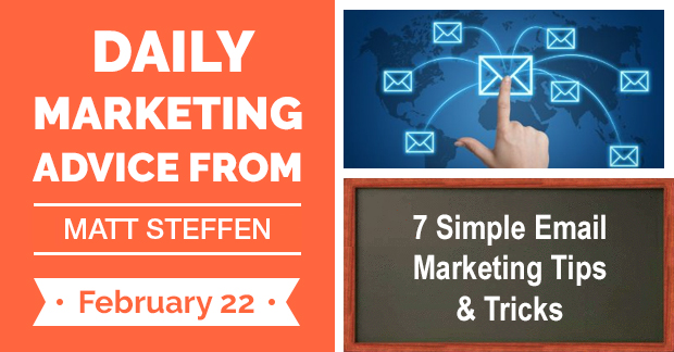 7 Simple Email Marketing Tips & Tricks