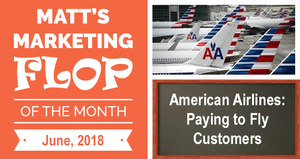 American Airlines: Paying to Fly Customers