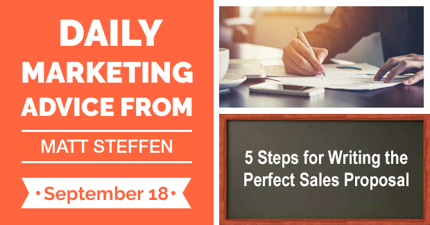 5 Steps for Writing the Perfect Sales Proposal