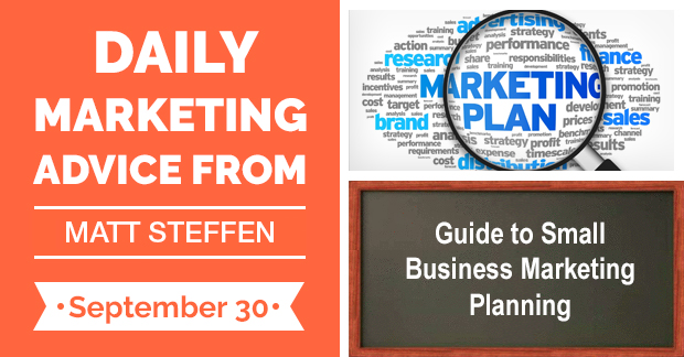 Guide to Small Business Marketing Planning