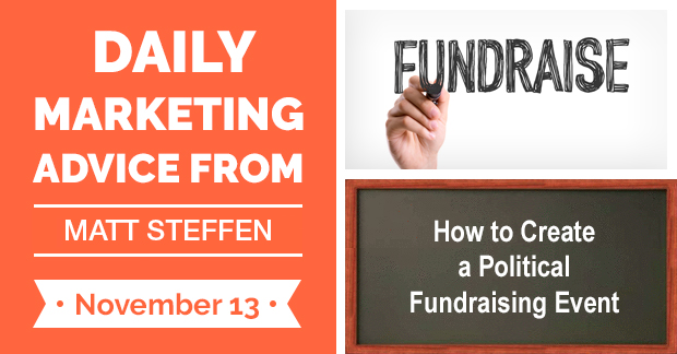 How to Create a Political Fundraising Event