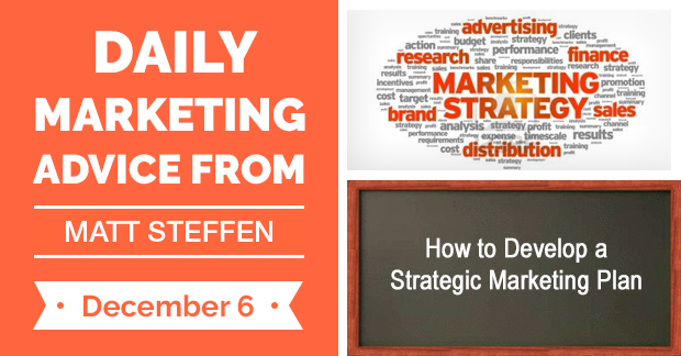 How to Develop a Strategic Marketing Plan