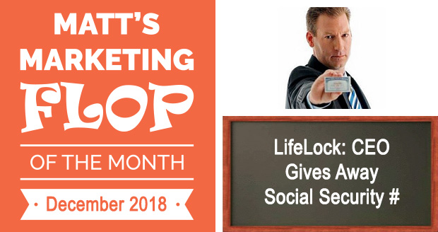 LifeLock: CEO Gives Away Social Security #