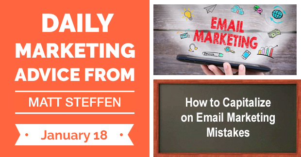 How to Capitalize on Email Marketing Mistakes