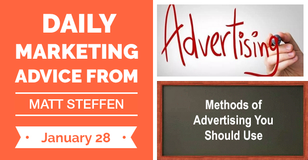 Methods of Advertising You Should Use