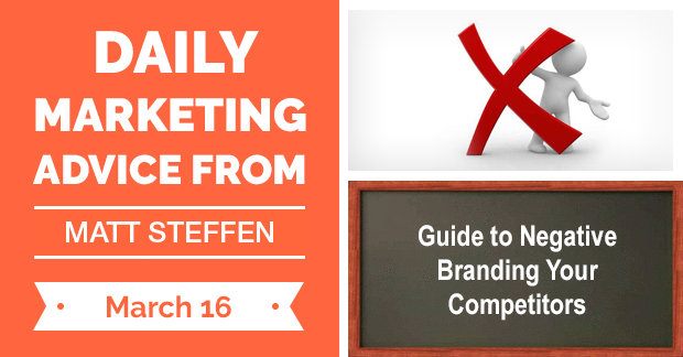 Guide to Negative Branding Your Competitors