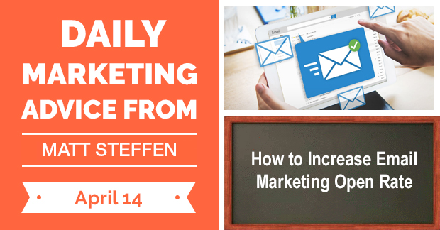 How to Increase Email Marketing Open Rate