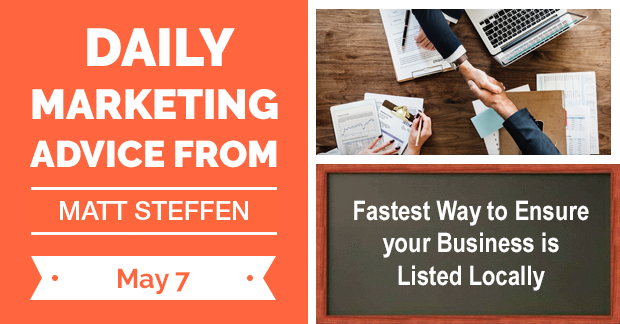 Fastest Way to Ensure your Business is Listed Locally