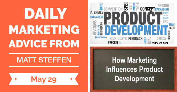 How Marketing Influences Product Development