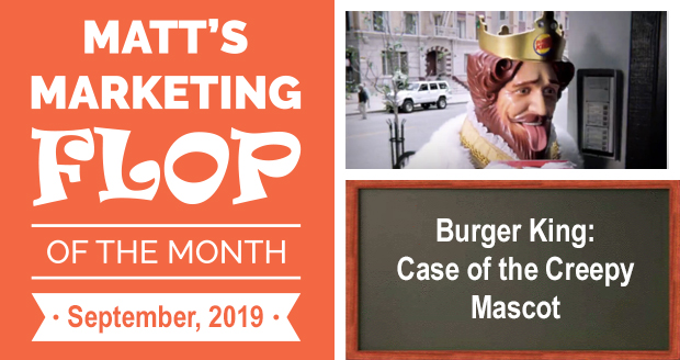 Burger King: Case of the Creepy Mascot