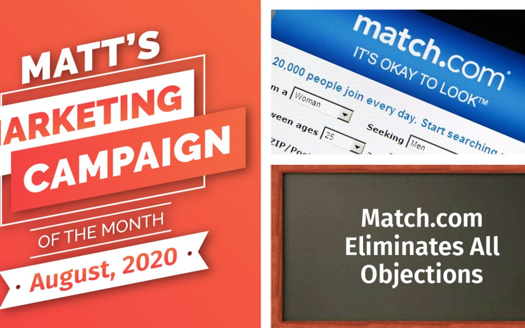 Match.com Eliminates All Objections