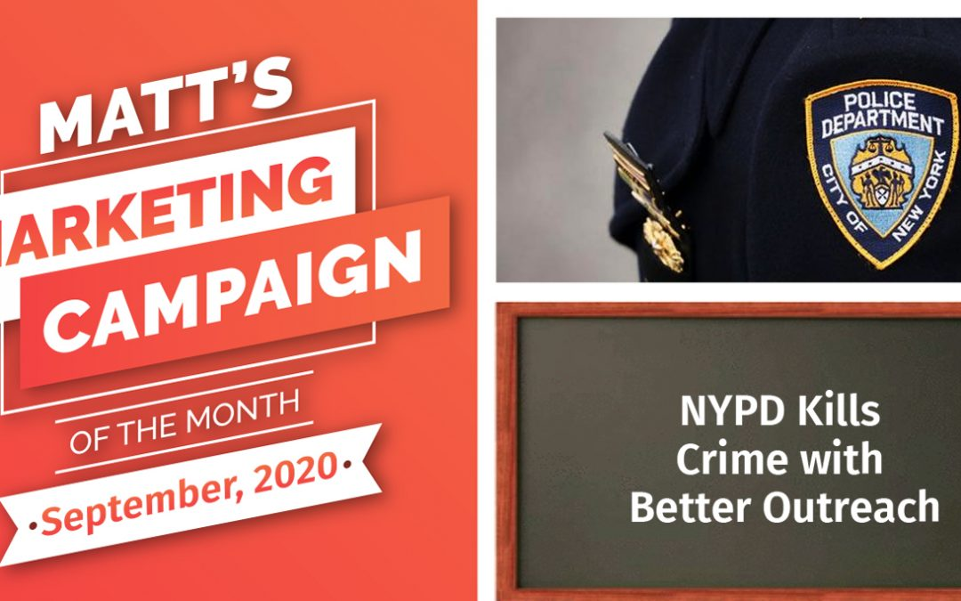 NYPD Kills Crime with Better Outreach