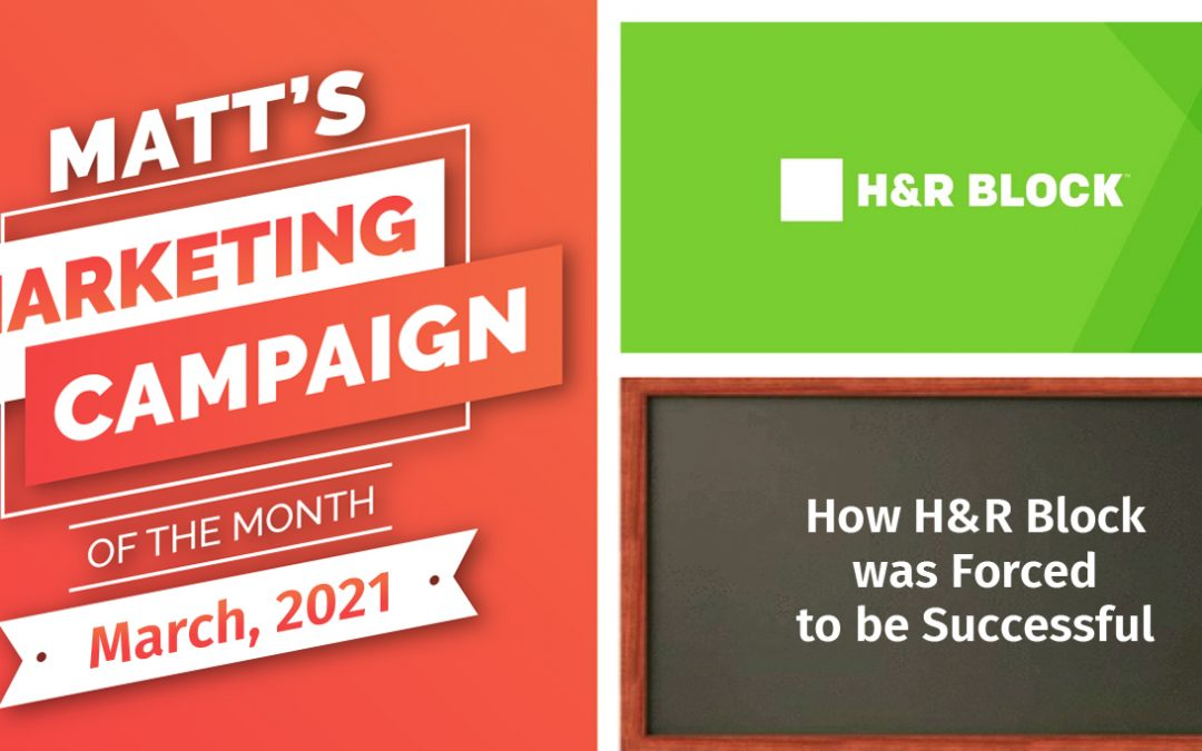 How H&R Block was Forced to be Successful
