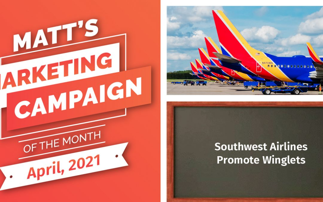 Southwest Airlines Promote Winglets